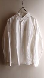 YAECA #68101 コンフォートシャツ スタンダードWHITE
