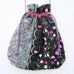 necktie kinchaku pochette (tulip)