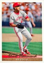 MLBカード 93UPPERDECK Chris Hammond #216 REDS