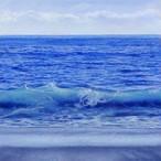「匿名の地平線-ver.blue-」版画