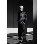 "21S MODAL COAT ""TRENCH"" #BLACK"