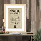 KRAFTRIP IN THE CITY ポスターA3