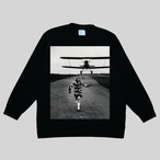 MARSHMALLOW FABRIC LONG SLEEVE / AIRPLANE <THE INTERNATIONAL IMAGES COLLECTION>