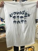 最KOOL高は今 Tシャツ ホワイト×ネイビー