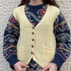 (LOOK) design knit vest