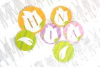 pdf形式【ダウンロード版】IRODORIガーランド_4月_tulip_circle