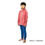 Kids / UN3100 Mid weight fleece hoody / Red