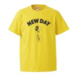【NEW DAY 】T-Shirt (YELLOW × SUMI) *5/1までの注文でLive音源付き