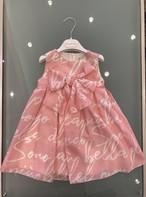 SpecialDay 英文字ワンピース(ピンク) 2才~6才
