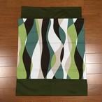 MOKKO wrap / グリーン波
