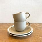 森正洋デザインカップ&ソーサー【白山陶器 】