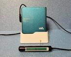 MDプレーヤー SONY MZ-E630-青 MDLP対応 綺麗な完動品