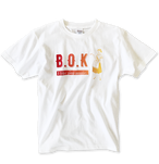 "B.O.K T-shirt ""orange gradation"""