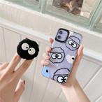 iphoneケース スマホケース iphone11 ケース 韓国 キャラクター ポップソケッツ グリップ