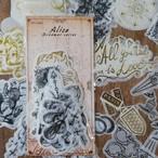 和紙シール Dreamer series Alice