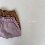 【予約販売】Rock pants〈bella bambina〉