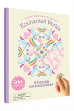 Sticker Kaleidoscopes Book / Enchanted Worlds