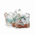 水晶クラスター型オルゴナイト アパタイト&アクアマリン