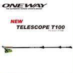 ONE WAY ノルディックウォーク TELESCOPE T100 3段式アルミシャフト ow10220