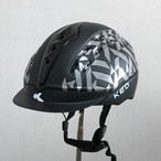 乗馬ヘルメット KED Cheeron K-Starブラック