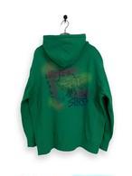 Original Hooded Sweatshirt / air brush / green