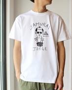 コラボレーションTシャツ  Honky Tonk  weac (ハンキー トンク  ウィーク) / SAMURAI JORGE(サムライジョージ)ホワイト