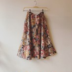【SALE】vintage flower design skirt