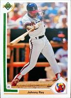 MLBカード 91UPPERDECK Johnny Ray #678 ANGELS