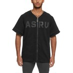 【ASRV】リバーシブルべースボールシャツ - Black/White
