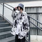 【tops】個性配色シングルブレスト合わせやすいシャツ23029584