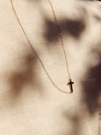Side Cross Necklace サイドクロスネックレス