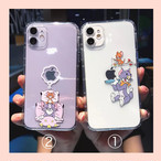 Cute mouse cat iphone cace
