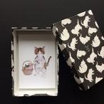mayumi taniguchi POST CARD BOX ねこ