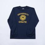 CrateUniversity Mesh L/S Tshirt NAVY