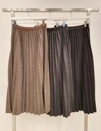 ウールプリーツスカート ウール ウールスカート プリーツスカート 韓国ファッション
