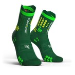 COMPRESSPORT コンプレスポーツ Pro Racing Socks v3.0 Trail プロレーシング ソックス V3.0 トレイル GREEN/YELLOW