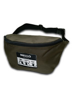 LOGO PATCH BODY BAG olive