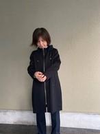 【ソフトバンクホークス日本一おめでとう!送料無料キャンペーン11/26-11/30】バイカラージャージスポーティーコート    黒×黒