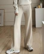 ウールピンタックパンツ ウールパンツ ピンタックパンツ 韓国ファッション