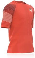 【50%OFF】COMPRESSPORT コンプレスポーツ Performance SS Tshirt パフォーマンス SS TSRUNR-SS-22 Tシャツ  ブラッドオレンジ