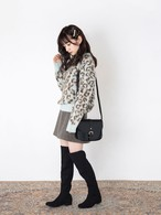 Lovely leopard knit  [B-9]