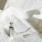 vintage sterling silver mini perfume bottle necklace