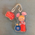 molintika キーホルダー 「M mouse」