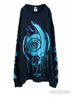 "【M:E】""×kyogu-2-""long sleeve-Tshirt [Ltd.color] BLACK"