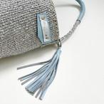 [ 限定即納 ] Eco shoulder Kago Bag / platinum color