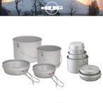 DUG(ダグ) 焚火缶 S/Mセット DG-0101 アウトドア サバイバル キャンプ 大鍋 クッカー トライポッド対応