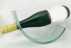 ガラスのワインスタンド