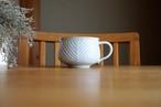 砥部焼/スープカップ/鎬ヘリンボーン/皐月窯