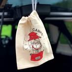 CAMPS 巾着袋【ランタンおじさん】