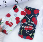 【オーダー商品】 Cherry iphone case